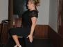Tanečné krúžky cvičia na trapolínach
